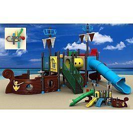 Игровой комлекс-площадка для детей Pirate Ship HDS-HD116