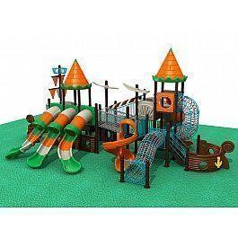 Игровой комлекс-площадка для детей Pirate Ship HDS-HD1211