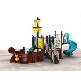 Игровой комлекс-площадка для детей Pirate Ship HDS-HD125-2