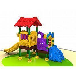 Игровой комлекс-площадка для детей All Plastic Series HDS-QS1272