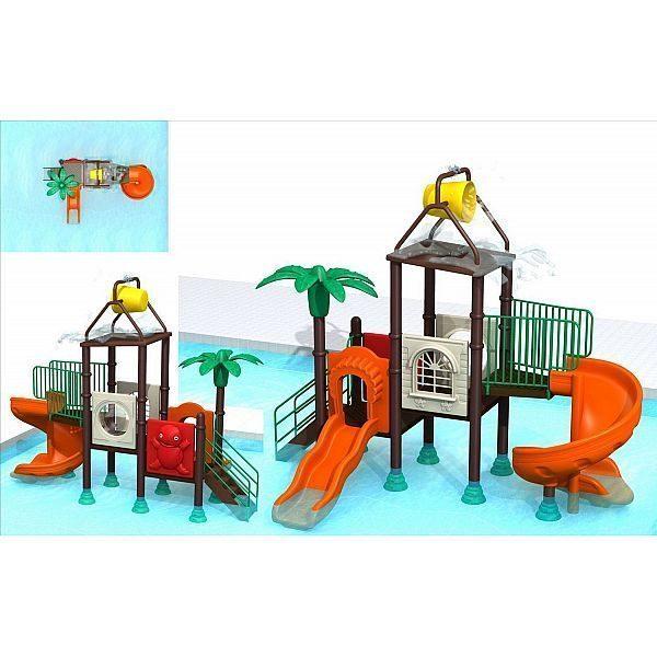 Игровой комлекс-площадка для детей Water Park HDS-ZR1152