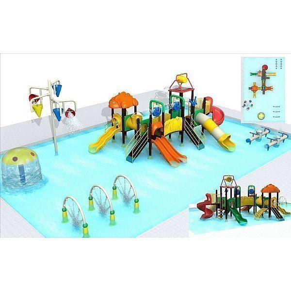 Игровой комлекс-площадка для детей Water Park HDS-ZR1163 all equipment
