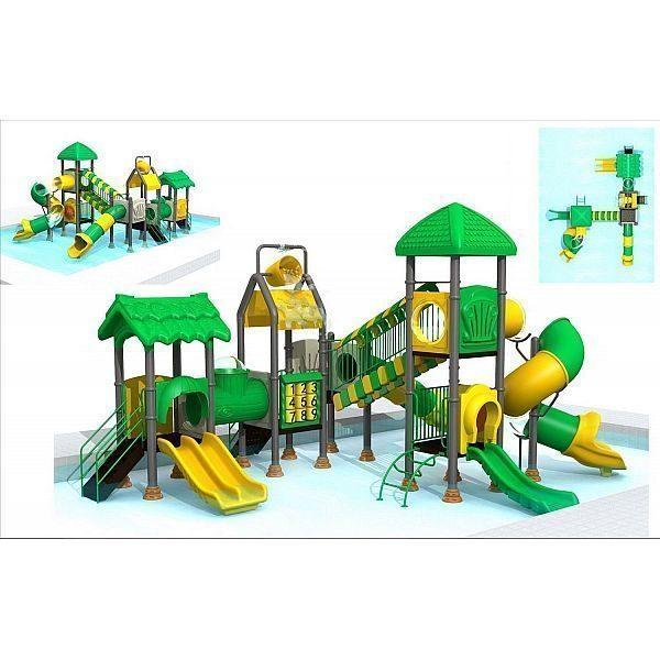 Игровой комлекс-площадка для детей Water Park HDS-ZR1166