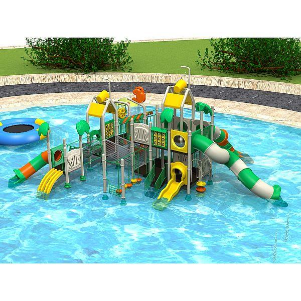 Игровой комлекс-площадка для детей Water Park HDS-ZR1219