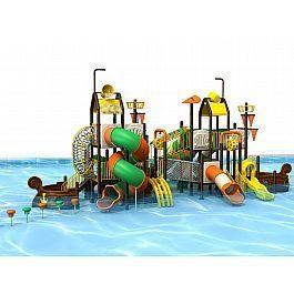 Игровой комлекс-площадка для детей Water Park HDS-ZR1221