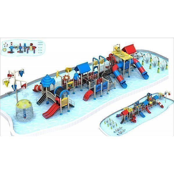 Игровой комлекс-площадка для детей Water Park HDS-ZR1112 all equipment