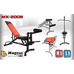 Скамья с комплектующими под штангу Magnus Extreme MX-Z009