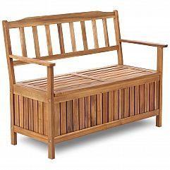 Садовая скамейка drewniana Акация ze skrzynią