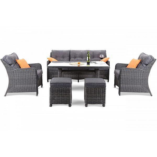 Мебель из ротанга California Grey / Grey Melange