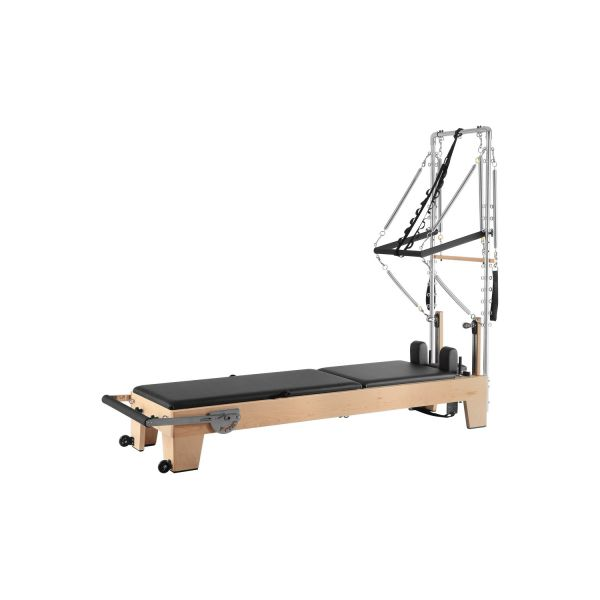 functional wood reformer with half trapzed