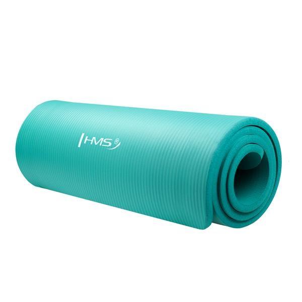 Фитнес коврик для йоги YM04 HMS , мятный