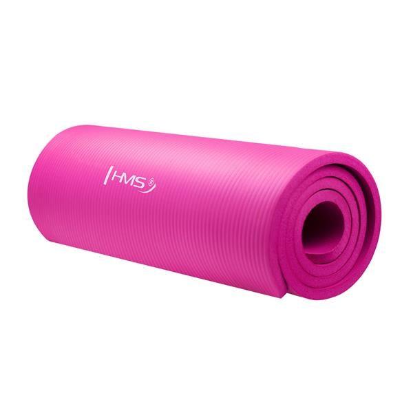 Фитнес коврик для йоги YM04 HMS , розовый