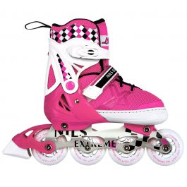 Роликовые коньки Nils Extreme NA13911A Size 31-34 Pink