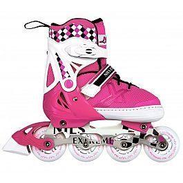 Роликовые коньки Nils Extreme NA13911A Size 39-42 Pink