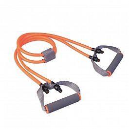 Эспандер LiveUp Dual Tube Exerciser Orange (LS3652)