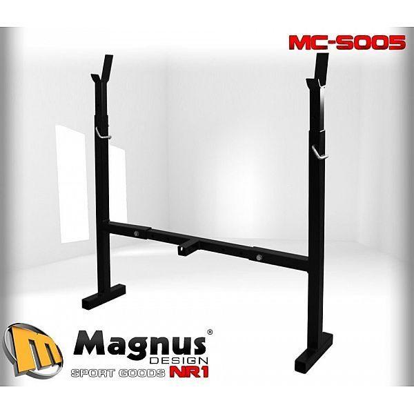 Стойки интегрированные под штангу Magnus MC-S005
