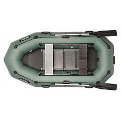 Двухместная надувная гребная лодка Bark B-270PD