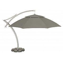 Садовый зонт IBIZA 420см, серый