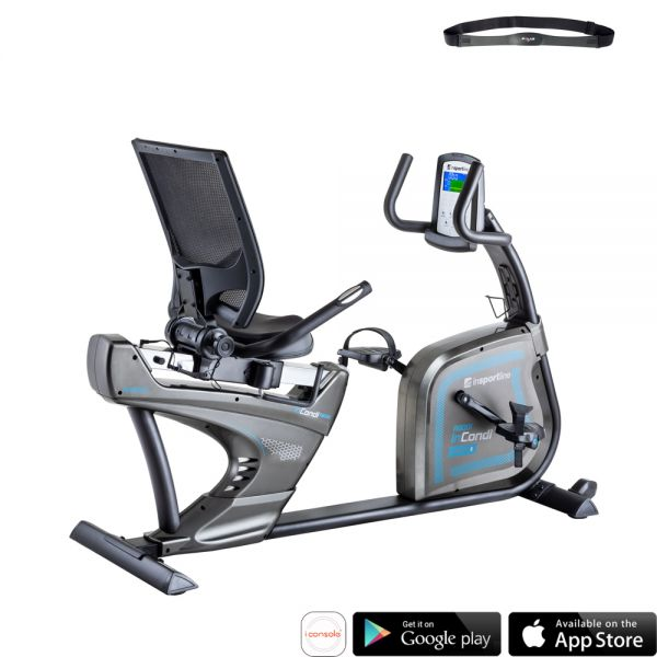 Горизонтальный велотренажер inSPORTline inCondi R600i