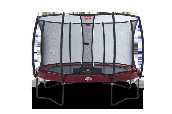 Батут Berg Elite + Regular Red 380 см + Safety Net T-series 380 см арт. 37.12.81.00