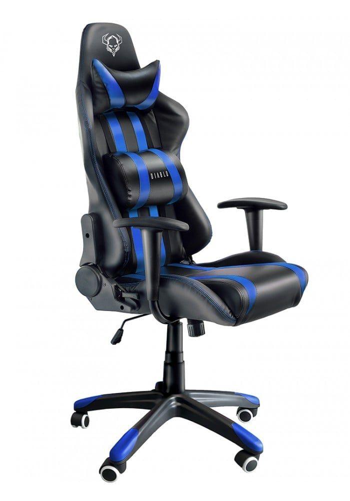 Геймерское кресло Diablo X-One черно-синее