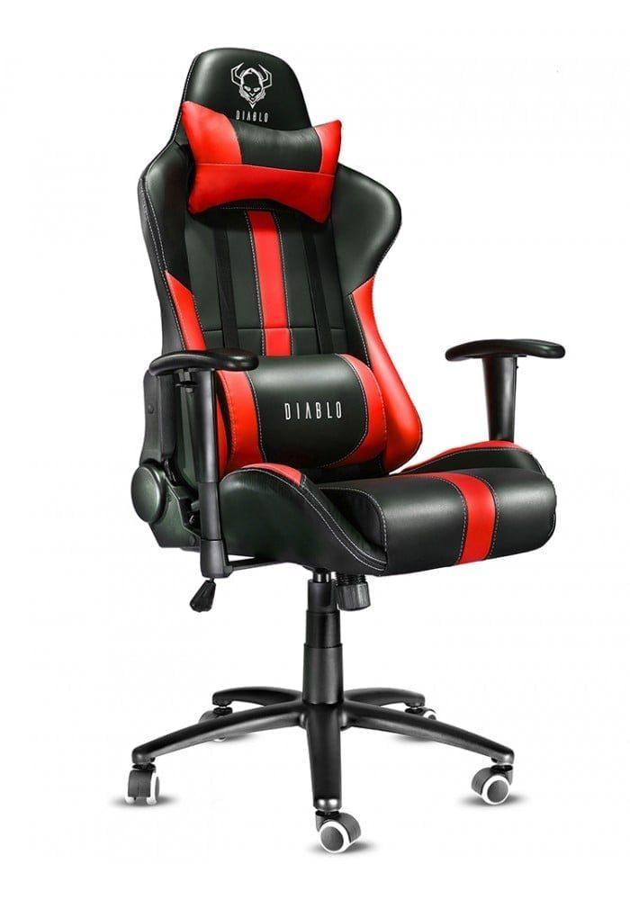 Геймерское кресло Diablo X-Player черно-красное