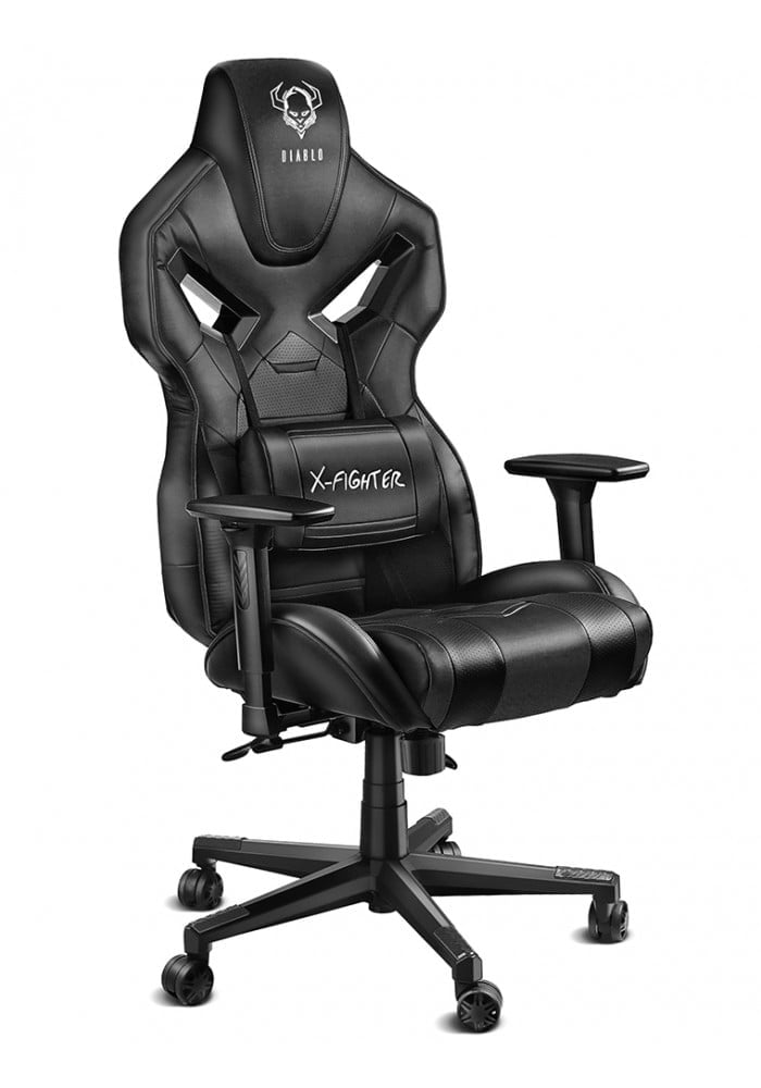 Геймерское кресло Diablo X-Fighter черное