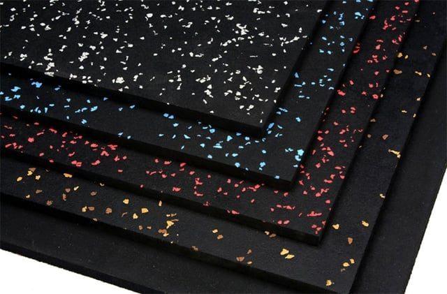Резиновое напольное покрытие для спортивных залов Eco Sport