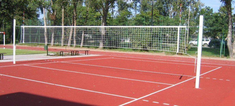 Столбы к волейболу алюминиевые