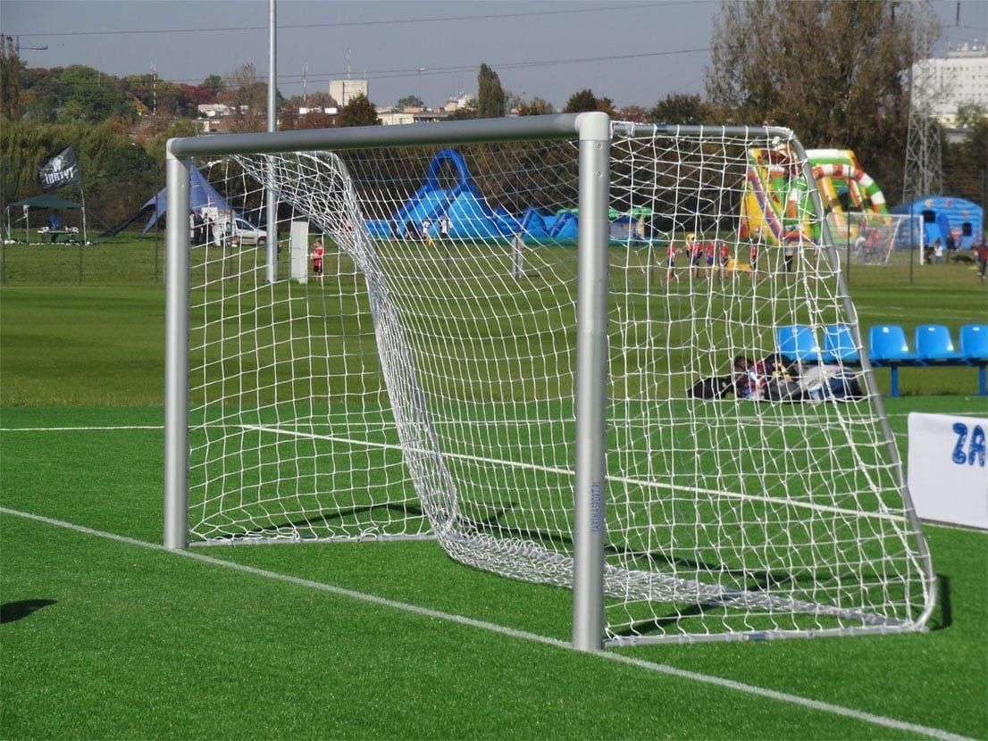 Футбольные ворота 5мx2м алюминиевые переносные