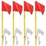 Угловые флаги на пружинах