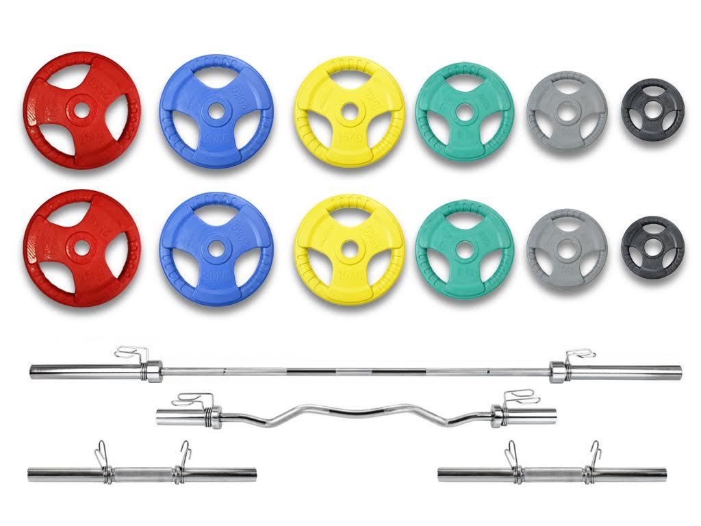 Штанга и гантели Олимпийская 155кг