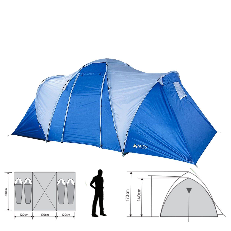 Палатка туристическая Allto Camp Explorer 4