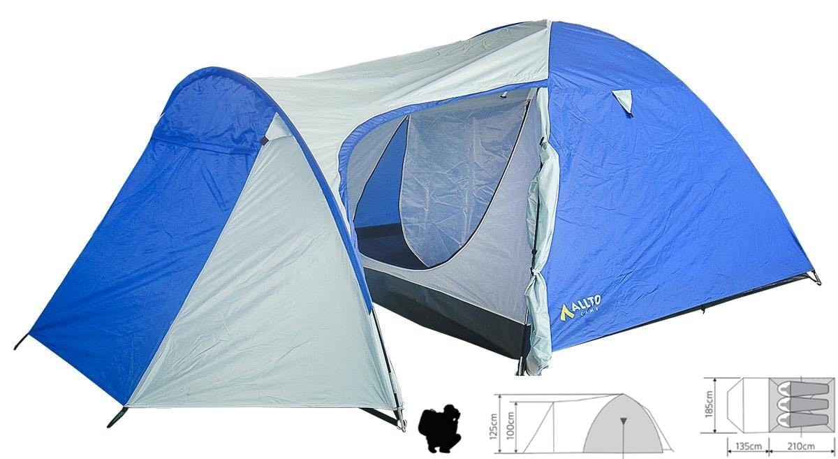 Палатка туристическая Allto Camp Alaska 3