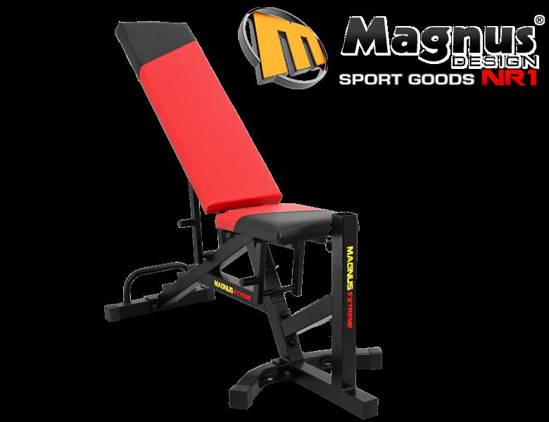 Гибридная тренировочная скамья MX2042 MAGNUS EXTREME