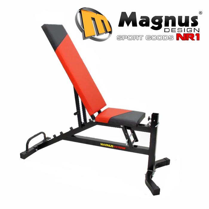 Magnus скамья тренировочная с уклоном вниз MX2041