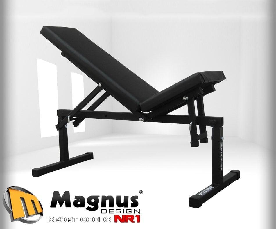 Скамья под штангу для упражнений MAGNUS MC-L005