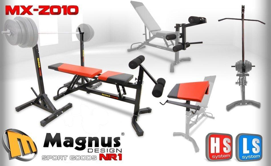 Комплект скамья с тягой Magnus Extreme MX-Z010