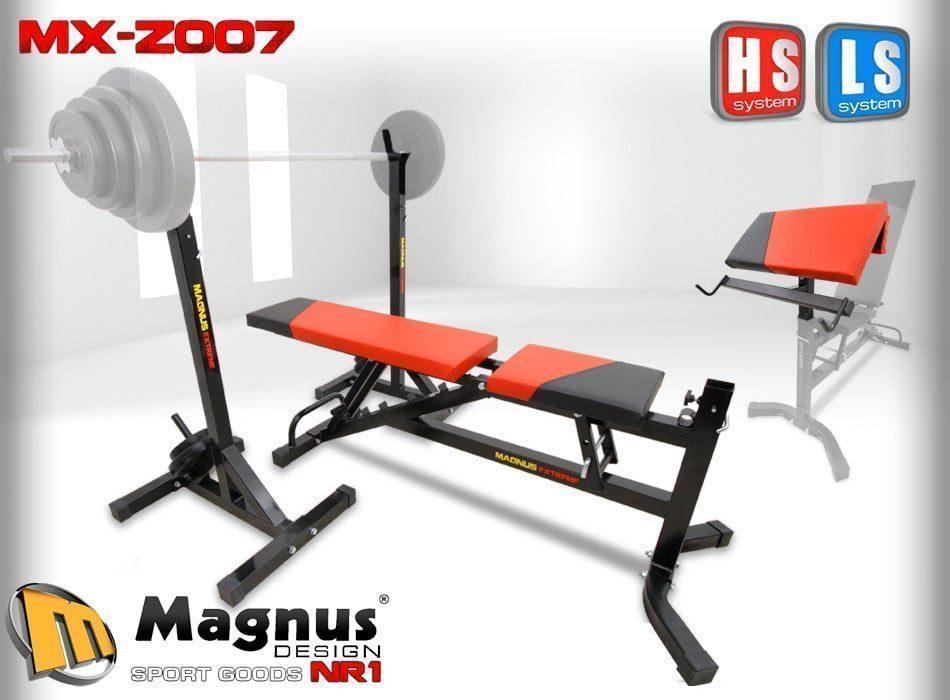 Скамья стойки парта - Magnus Extreme MX-Z007