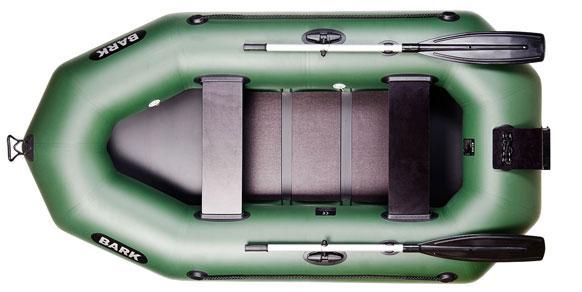 Двухместная надувная гребная лодка Bark B-250N