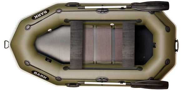 Двухместная надувная гребная лодка Bark B-260PD