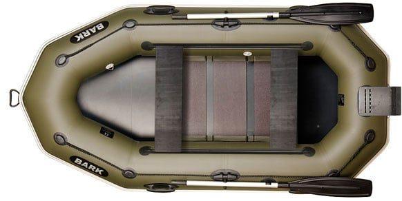 Двухместная надувная гребная лодка Bark B-260NPD