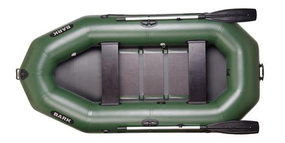 Трехместная надувная гребная лодка Bark B-280