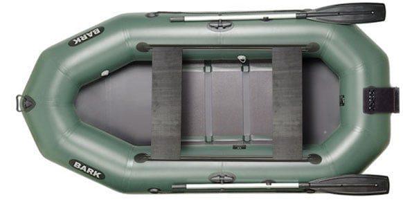 Трехместная надувная гребная лодка Bark B-280ND