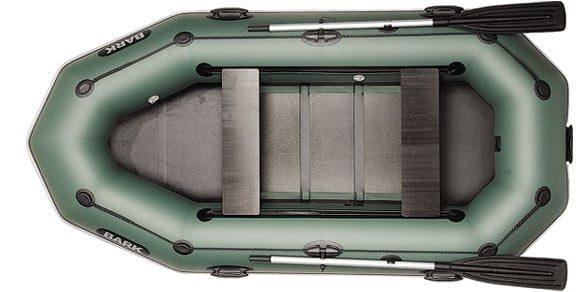 Трехместная надувная гребная лодка Bark B-280PD