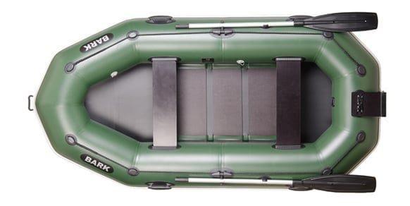 Трехместная надувная гребная лодка Bark B-280NP