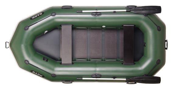 Трехместная надувная гребная лодка Bark B-300P