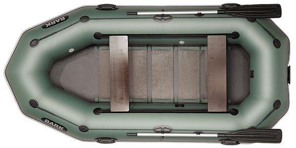 Трехместная надувная гребная лодка Bark B-300PD