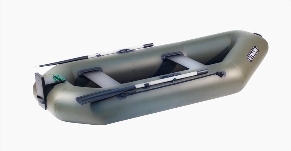 Надувная гребная лодка Storm ST260DT