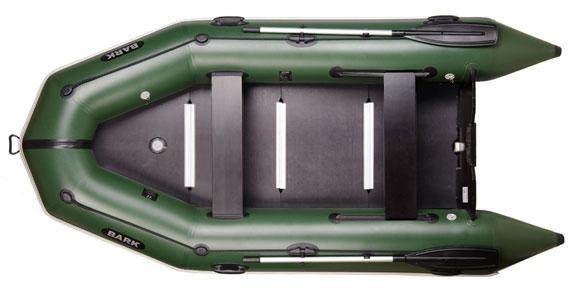 Четырехместная надувная моторная лодка Bark BT-330S